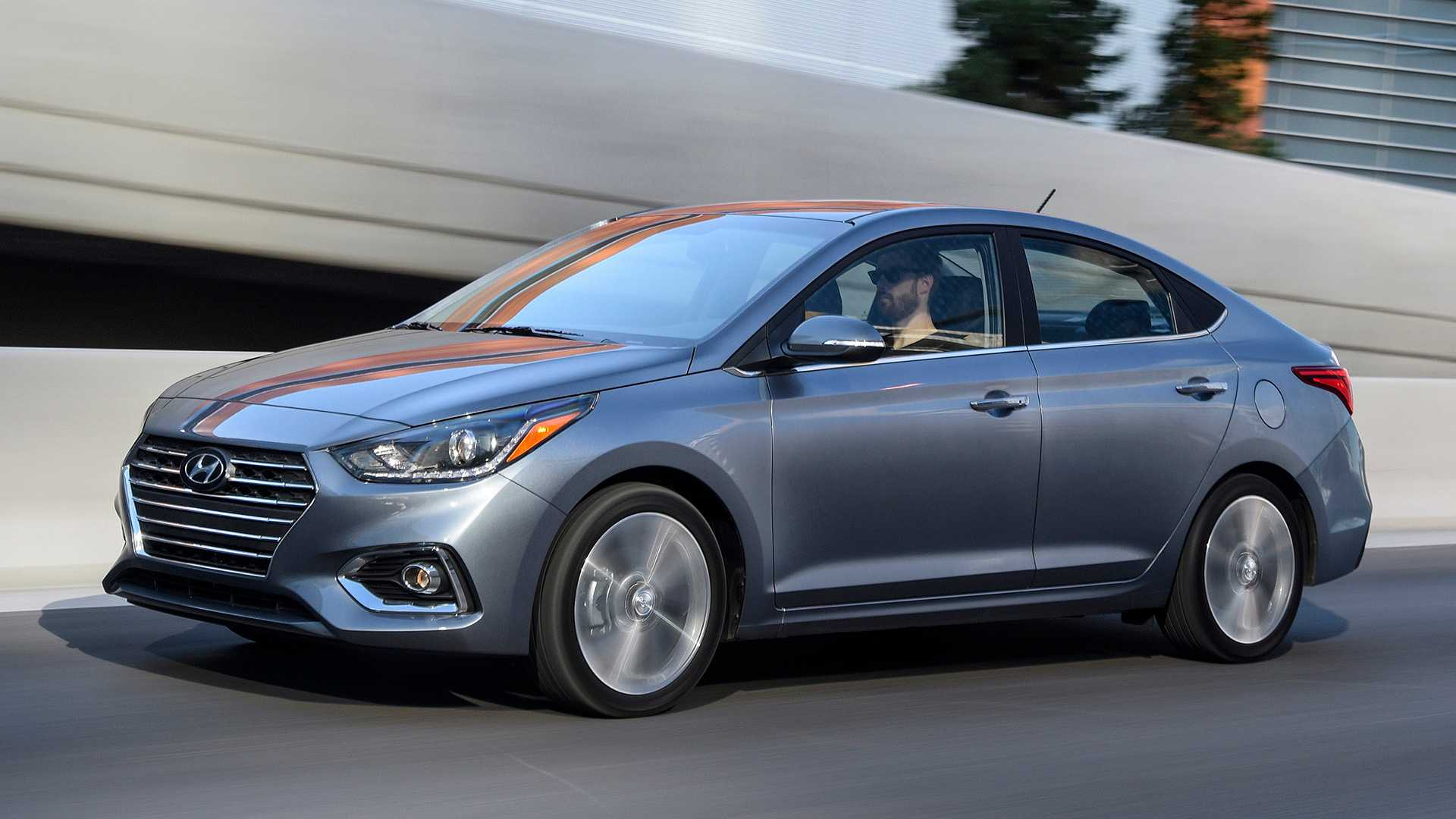 2020 Hyundai Accent Front