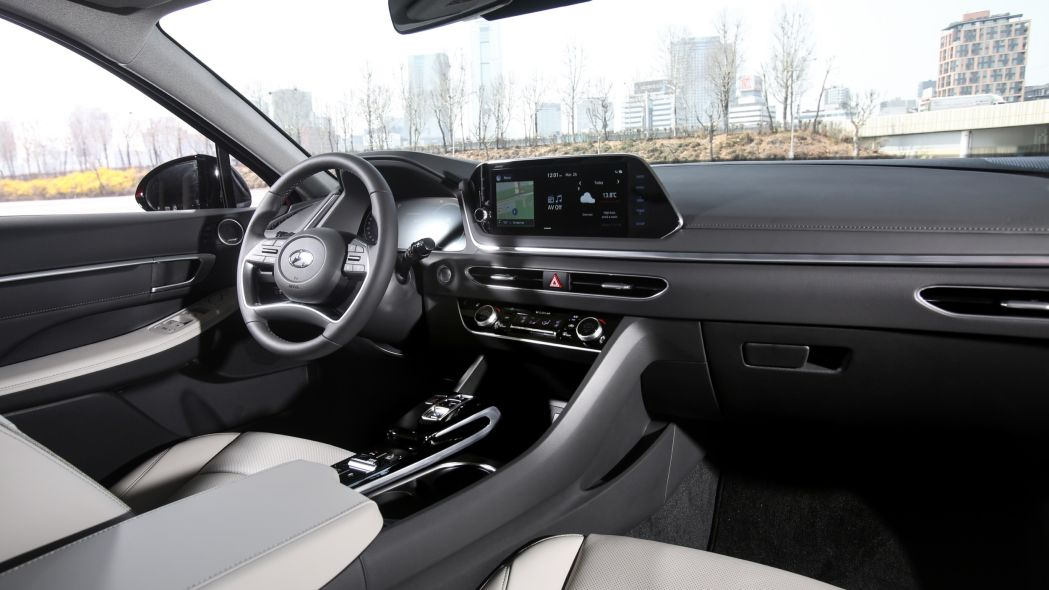 2020 Hyundai Accent Interior