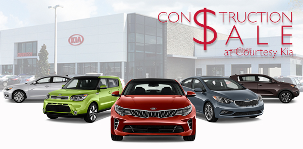 Construction Sale at Courtesy Kia