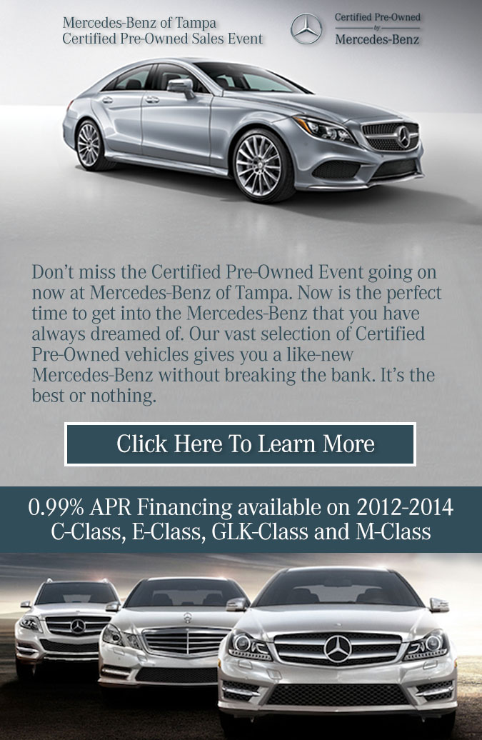 Mercedes Benz Certified Pre Owned Event