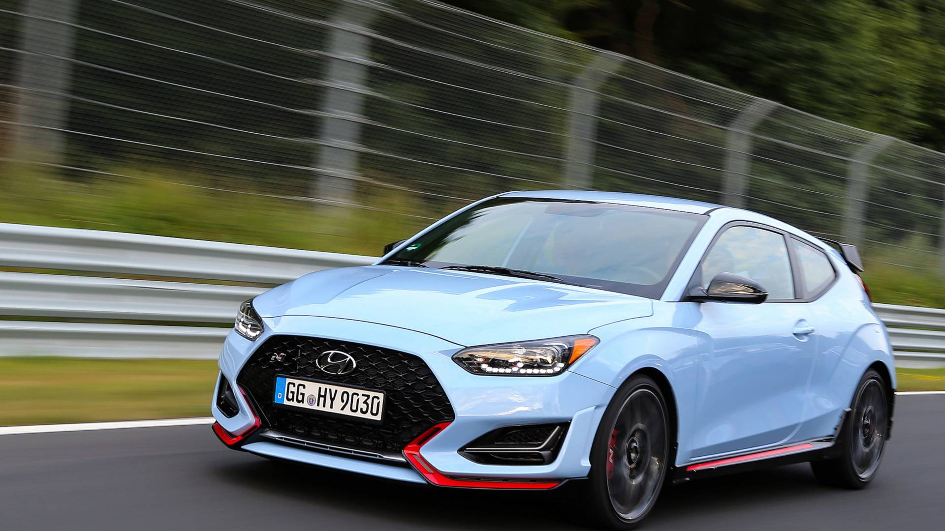 2020 Hyundai Veloster Front