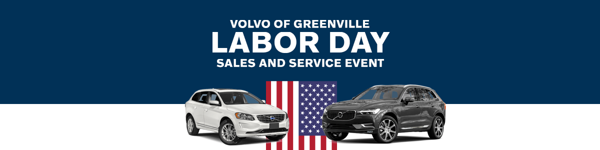 Labor Day 2019 Sales Event at Volvo of Greenville SC