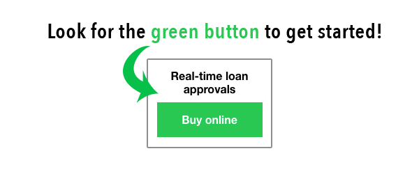 Green Push Start Button
