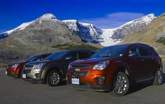 Chevrolet Equinox Models with Mountain View