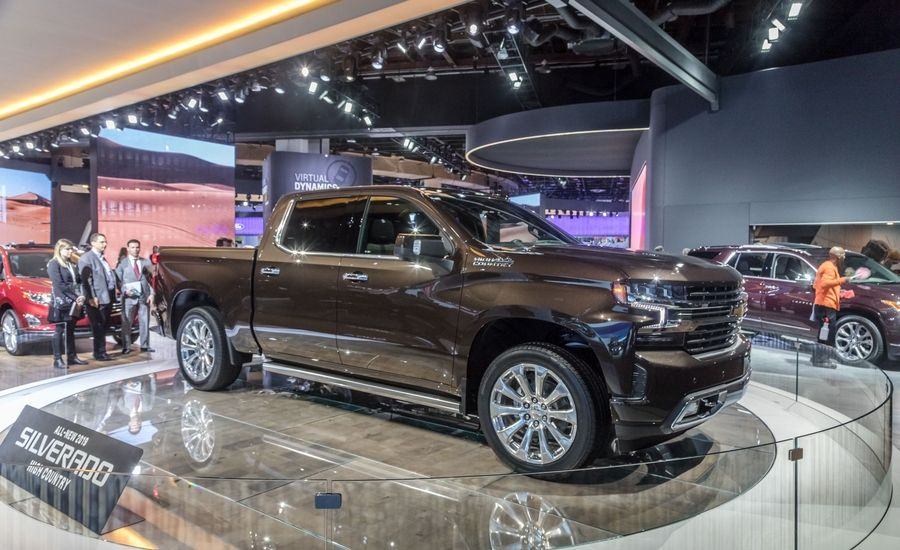 2019 Silverado at the NAIAS