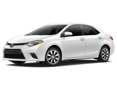 2016 Toyota Corolla LE at Toyota of Greenville