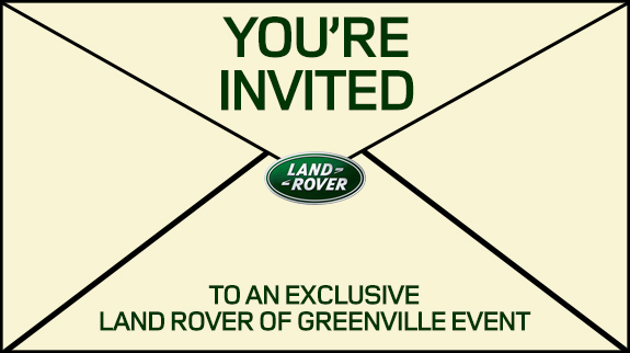 Land Rover Greenville All-New Discovery Invitation