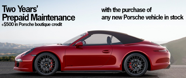 March Lease Specials at Porsche of Greenville